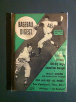1950 Baseball Digest September Art Houtteman Tigers - Larry Jansen Giants Very Good to Excellent