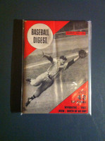 1951 Baseball Digest March Eddie Yost Very Good