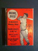 1951 Baseball Digest July Irv Noren Excellent