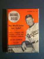 1951 Baseball Digest November Charlie Dressen Very Good to Excellent