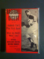 1959 Baseball Digest July Vada Pinson Excellent