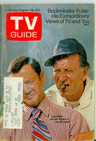1971 TV Guide February 6 Odd Couple - Tony Randall and Jack Klugman (First Cover) Portland edition Very Good  [Heavy scuffing on cover, contents fine]
