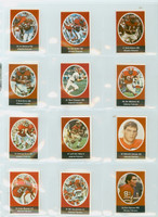 1972 Sunoco Football Stamps Team Set of 24 Atlanta Falcons Near-Mint to Mint