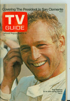 1971 TV Guide April 17 Paul Newman Eastern Washington edition Very Good - No Mailing Label  [Wear and creasing on cover, contents fine]