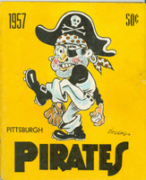 1957 Pirates Yearbook Very Good to Excellent minor cover wear