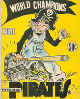 1961 Pirates Yearbook Excellent Lt cover wear