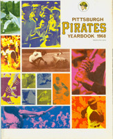 1968 Pirates Yearbook Excellent Lt cover wear