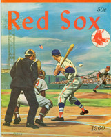 1960 Red Sox Yearbook Ted Williams Final Season Excellent Light wear on cover, ow clean