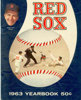 1963 Red Sox Yearbook Very Good to Excellent Minor creasing on cover, contents fine