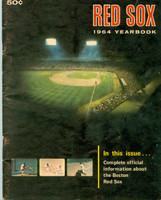1964 Red Sox Yearbook Tony Conigliaro Rookie Season Very Good Heavy creasing on cover, inside pages clean