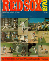 1970 Red Sox Yearbook Excellent Wear on cover, contents fine