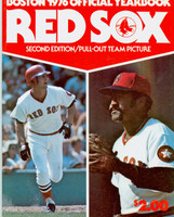 1976 Red Sox Yearbook Revised Near-Mint Light wear on cover, ow clean