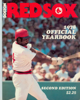 1978 Red Sox Yearbook Revised Near-Mint Light wear on cover, ow clean