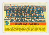 1956 Topps Football 7 Packers Team Very Good