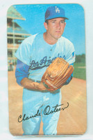1970 Topps Baseball Supers 1 Claude Osteen Los Angeles Dodgers Very Good