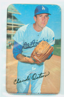 1970 Topps Baseball Supers 1 Claude Osteen Very Good to Excellent