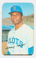 1970 Topps Baseball Supers 9 Tommy Harper Seattle Pilots Very Good to Excellent