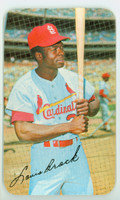 1970 Topps Baseball Supers 11 Lou Brock St. Louis Cardinals Very Good to Excellent