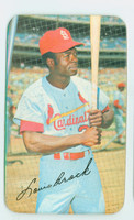 1970 Topps Baseball Supers 11 Lou Brock St. Louis Cardinals Excellent