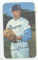 1970 Topps Baseball Supers 15 Phil Niekro Atlanta Braves Very Good to Excellent