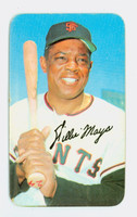 1970 Topps Baseball Supers 18 Willie Mays San Francisco Giants Very Good