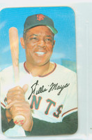 1970 Topps Baseball Supers 18 Willie Mays Excellent to Mint