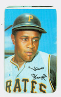 1970 Topps Baseball Supers 19 Willie Stargell Pittsburgh Pirates Good to Very Good