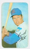1970 Topps Baseball Supers 21 Ron Santo Chicago Cubs Good to Very Good