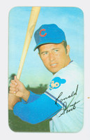 1970 Topps Baseball Supers 21 Ron Santo Chicago Cubs Excellent