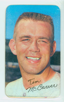 1970 Topps Baseball Supers 23 Tim McCarver St. Louis Cardinals Very Good to Excellent