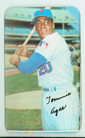 1970 Topps Baseball Supers 42 Tommie Agee New York Mets Good to Very Good