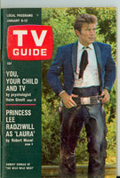 1968 TV Guide Jan 6 Robert Conrad of Wild Wild West Eastern New England edition Near-Mint - No Mailing Label  [Very light wear, ow very clean example]