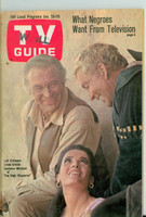 1968 TV Guide Jan 20 High Chaparral Western Illinois edition Near-Mint - No Mailing Label  [Very light wear, ow very clean example]