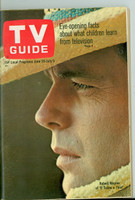1968 TV Guide Jun 29 Robert Wagner of it Takes a Thief Northern California edition Near-Mint - No Mailing Label  [Very light wear, ow very clean example]