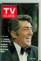 1968 TV Guide Sep 28 Dean Martin Northern New England edition Very Good to Excellent - No Mailing Label  [Wear and creasing on cover, contents fine]