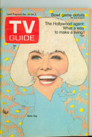 1968 TV Guide Dec 28 Doris Day Southern Ohio edition Near-Mint - No Mailing Label  [Very light wear, ow very clean example]