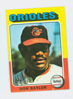 1975 Topps Mini Baseball 382 Don Baylor Baltimore Orioles Excellent to Mint