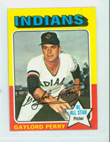 1975 Topps Mini Baseball 530 Gaylord Perry Cleveland Indians Excellent to Mint