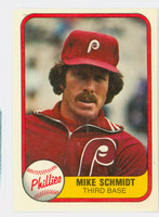 1981 Fleer Baseball 5 Mike Schmidt Philadelphia Phillies Near-Mint to Mint