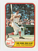 1981 Fleer Baseball 638 Carl Yastrzemski Boston Red Sox Near-Mint to Mint