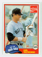 1981 Topps Baseball 110 Carl Yastrzemski