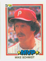 1981 Donruss Baseball 590 Mike Schmidt Philadelphia Phillies Near-Mint to Mint