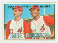 1967 Topps Baseball 109 Tribe Thumpers Cleveland Indians Good to Very Good