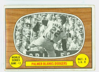 1967 Topps Baseball 152 World Series 2 Baltimore Orioles Very Good