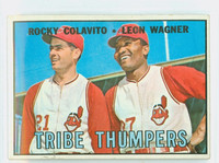 1967 Topps Baseball 109 Tribe Thumpers Cleveland Indians Excellent to Excellent Plus