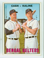 1967 Topps Baseball 216 Bengal Belters Detroit Tigers Excellent to Excellent Plus