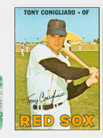 1967 Topps Baseball 280 Tony Conigliaro Boston Red Sox Excellent to Excellent Plus