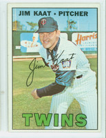 1967 Topps Baseball 300 Jim Kaat Minnesota Twins Excellent to Mint