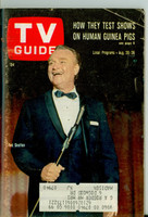 1966 TV Guide Aug 20 Red Skelton NY Metro edition Very Good  [Wear and creasing on cover, contents fine]