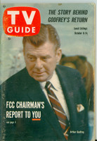 1960 TV Guide Oct 8 Arthur Godfrey Illinois edition Very Good - No Mailing Label  [Lt wear and spotting on cover, contents fine]